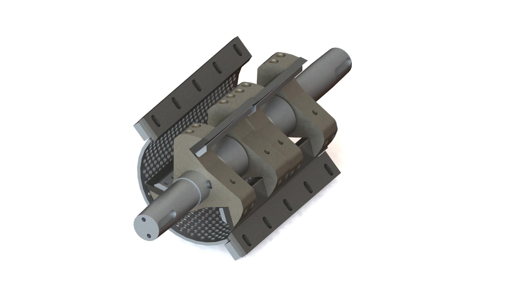PVB crusher blades
