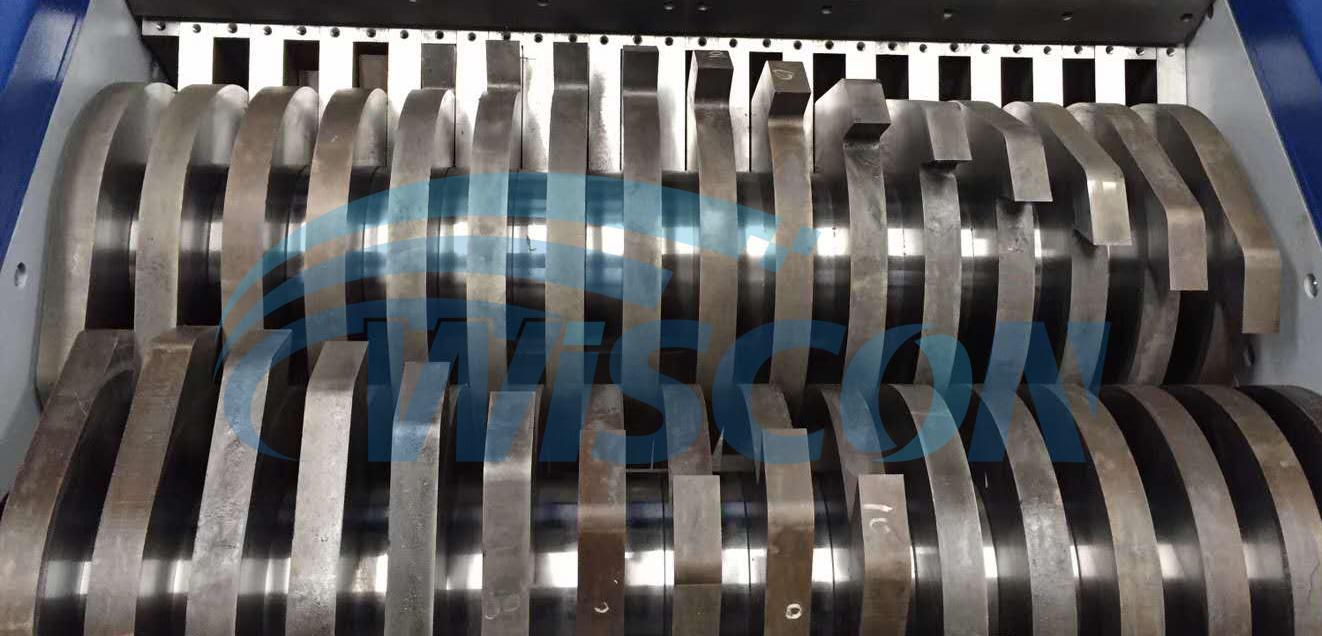 Plastic Drum Shredder