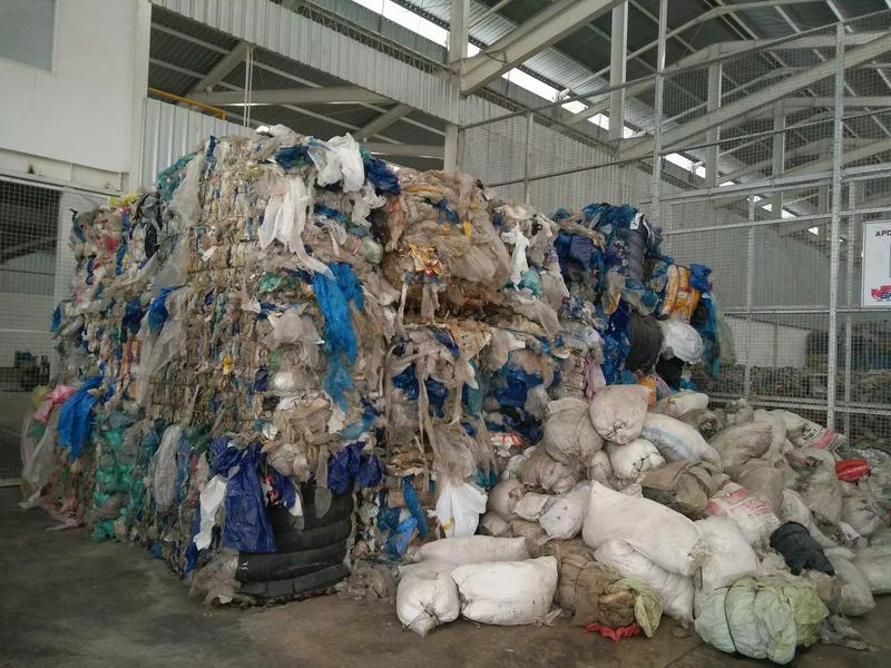 pulper rope waste