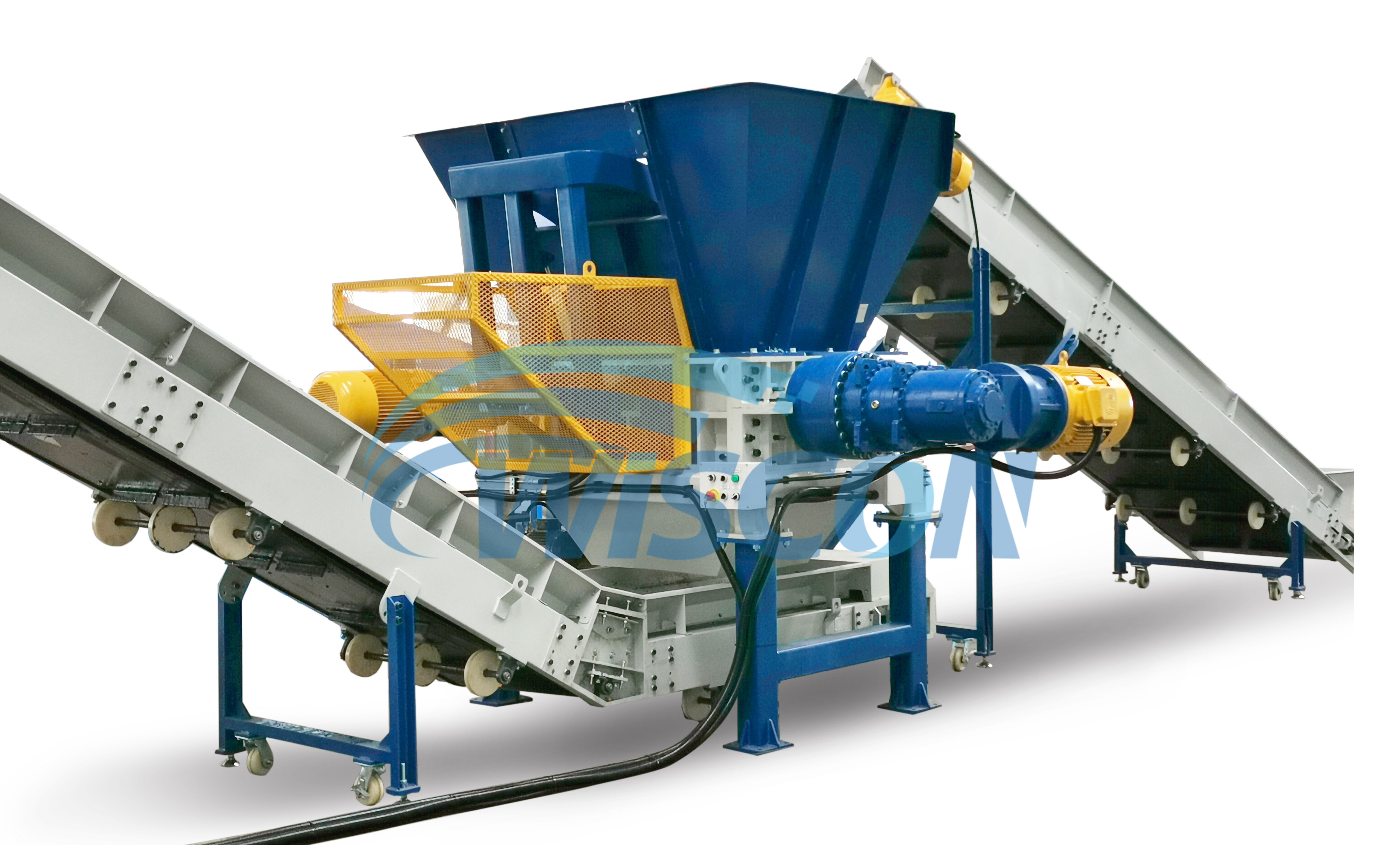 HDPE recycling system