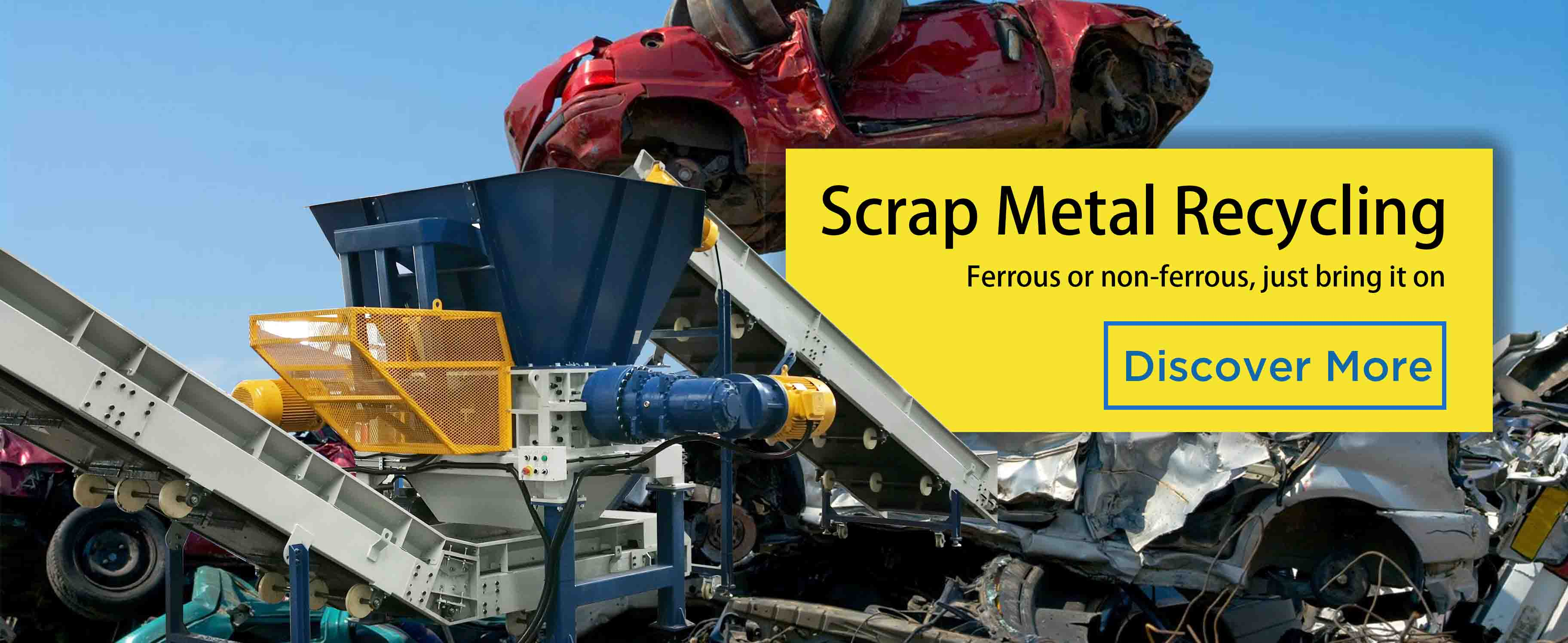 metal recycling banner