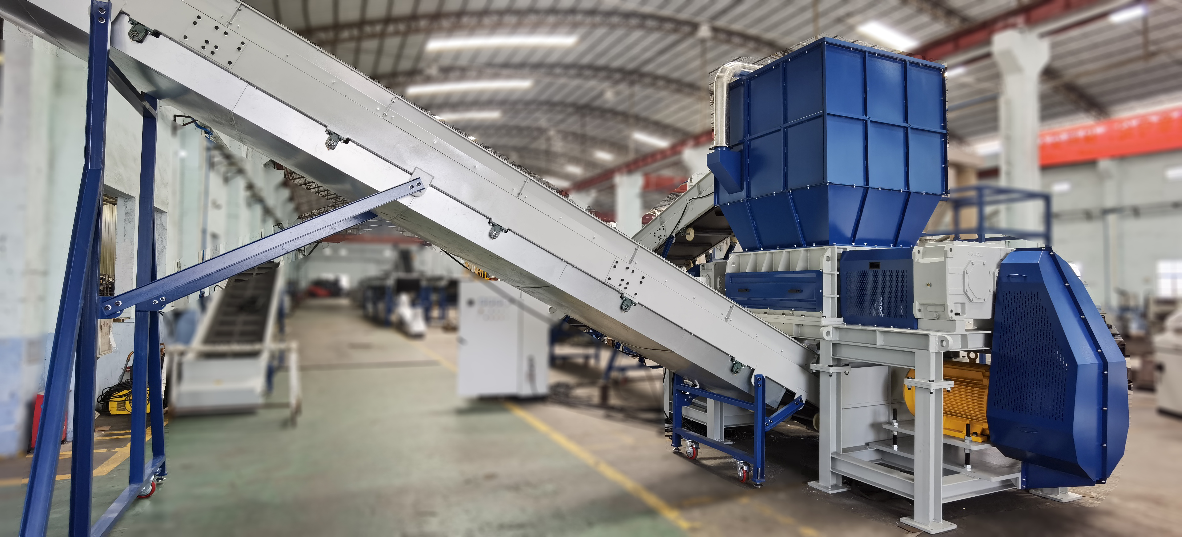 Double Rotor Shredder