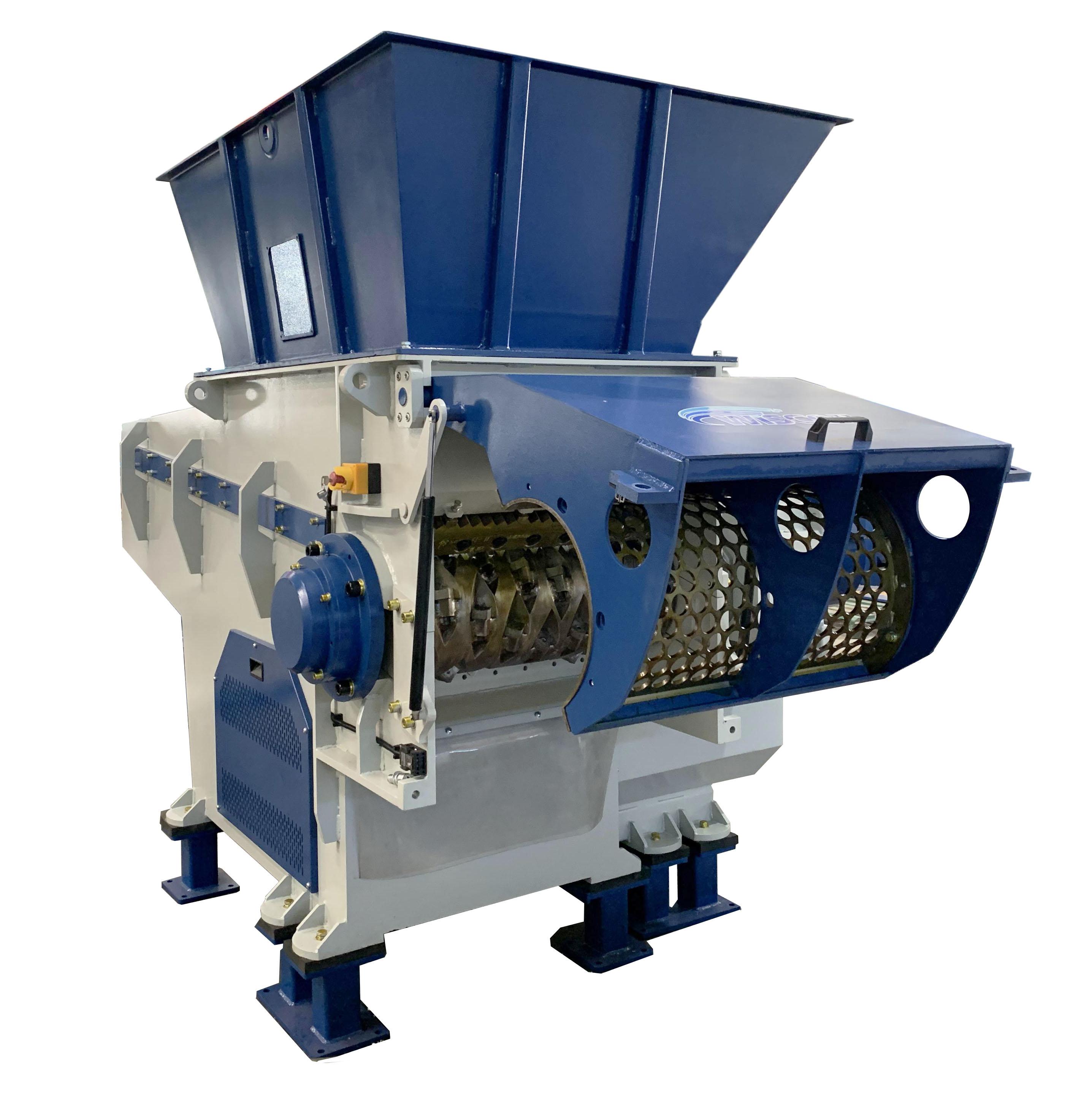 biomass shredder machine