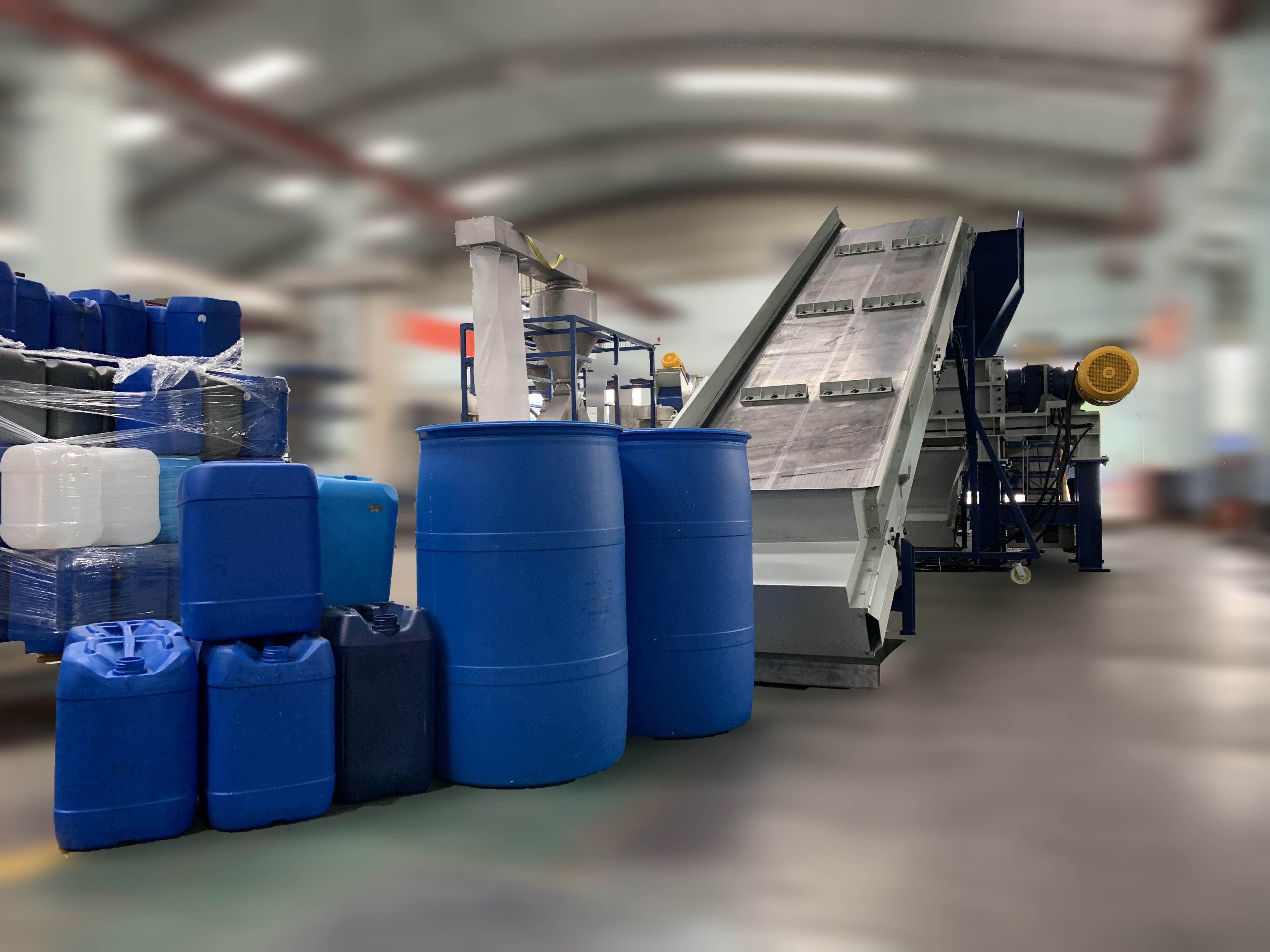 HDPE Drum Recycling