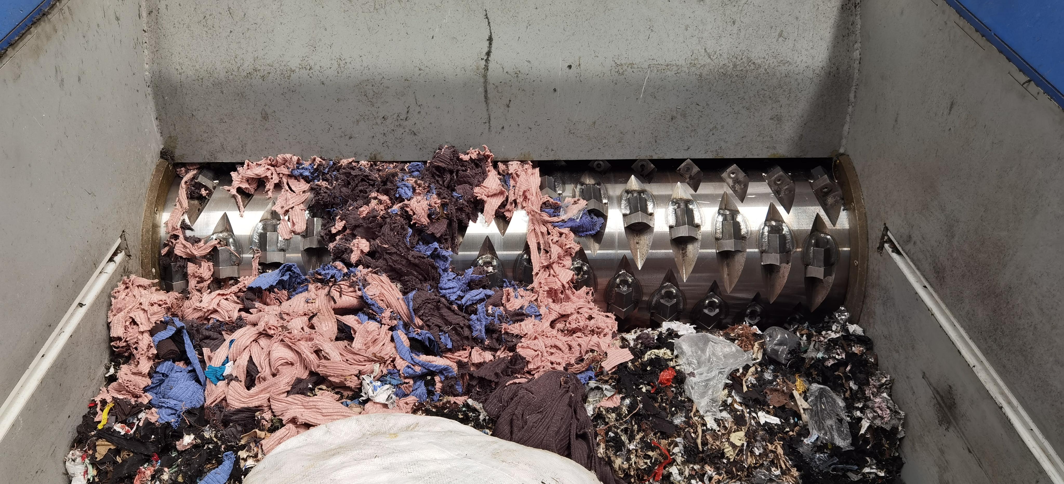 fabric shredder